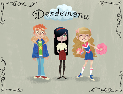 Desdemona – Series Development