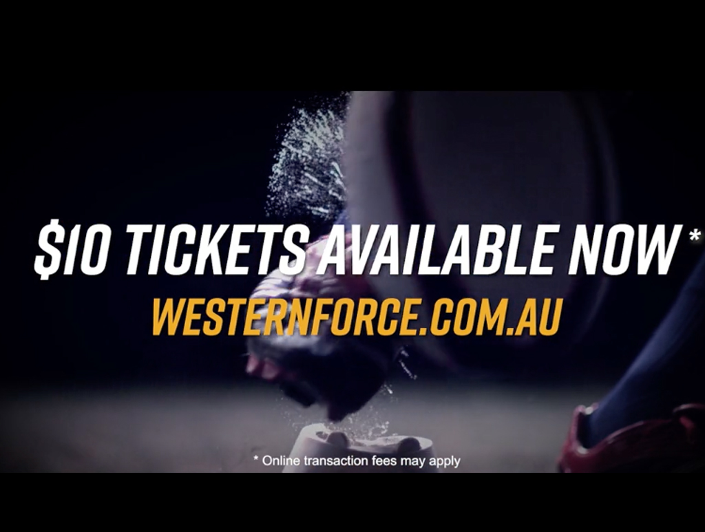 Western Force –  Be The Revolution
